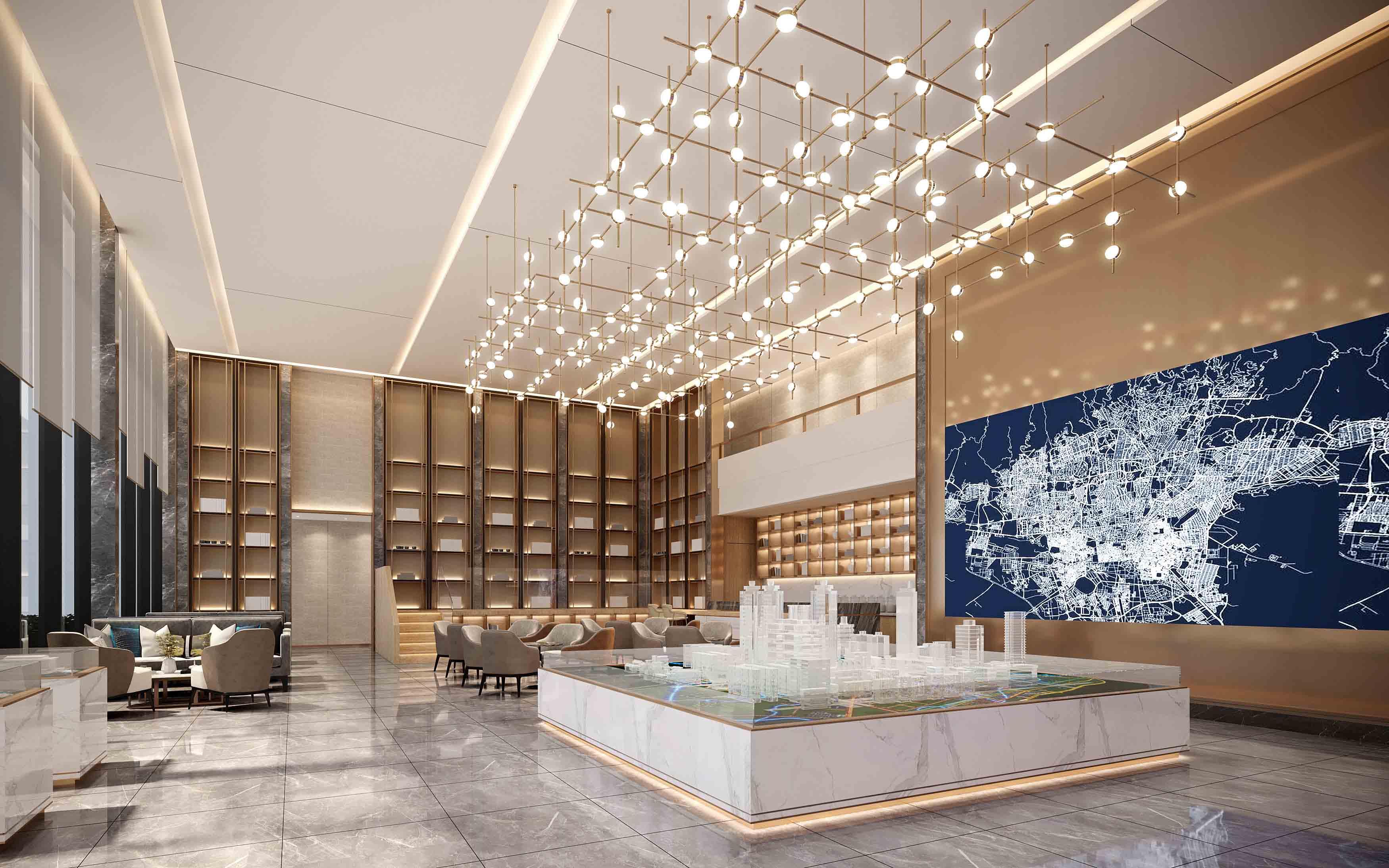 售楼部设计,售楼部软装设计,售楼部软装公司