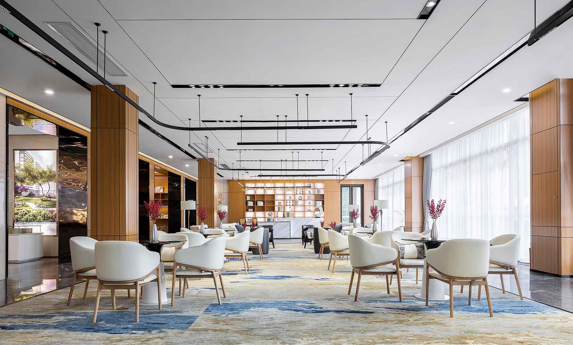售楼处软装设计,售楼处软装设计案例,售楼处软装公司